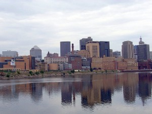 st_paul_city_minnesota_mississippi